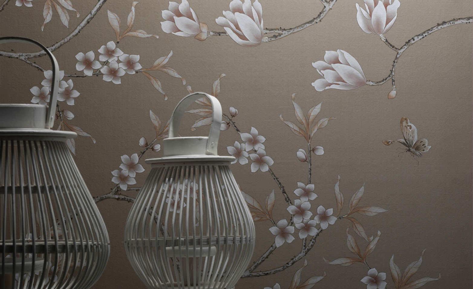 Misha handmade wallpapers antiche forme artigianali for Carta da parati etnica
