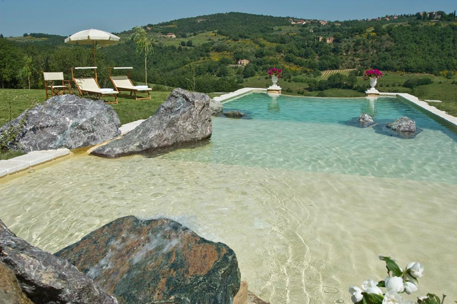 hotelito lupaia la piscina ed il panorama