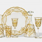 Vetrerie di Empoli – I raffinati bicchieri in cristallo decorato