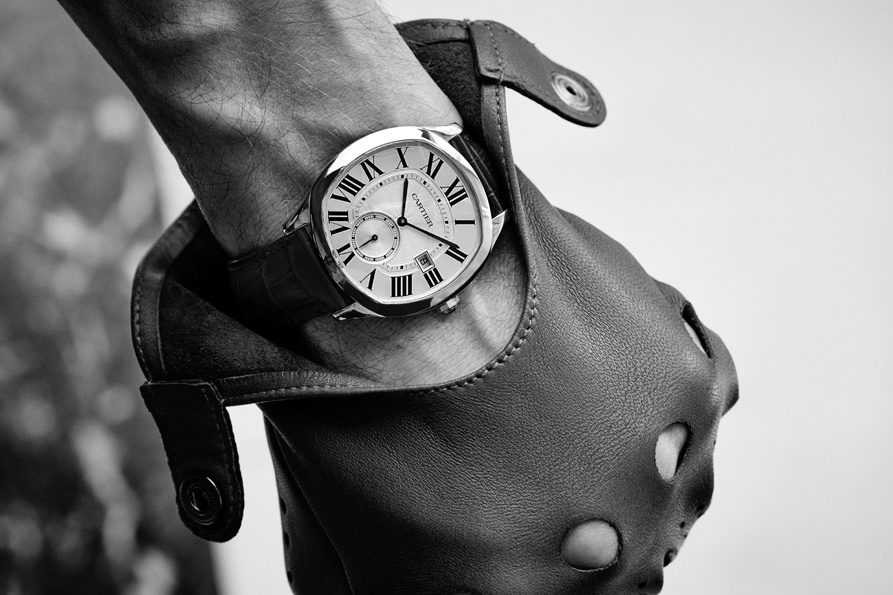 Drive de Cartier 2016: l'orologio Drive indossato