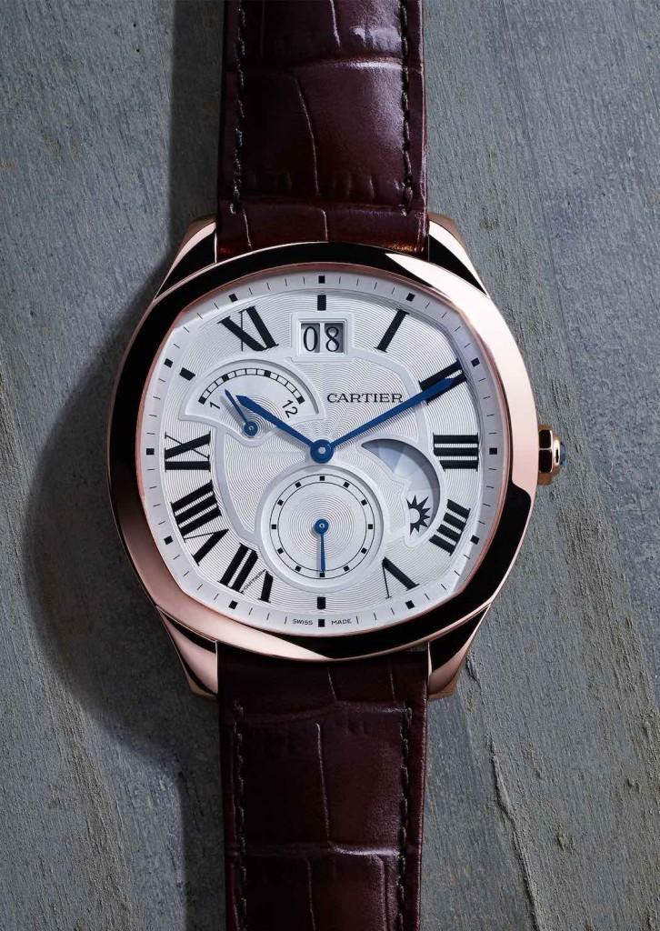 Drive de Cartier, orologio maschile, cassa in oro rosa, calibro 1094-FU MC