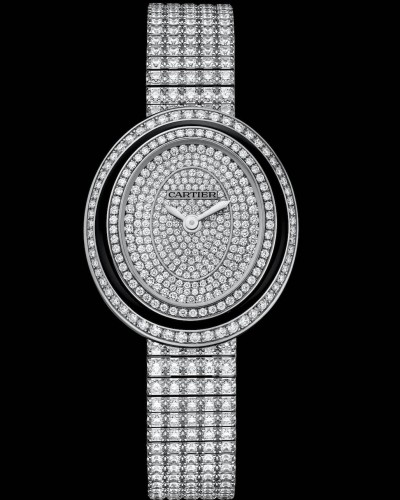 Orologio Cartier Hypnose small, diamanti