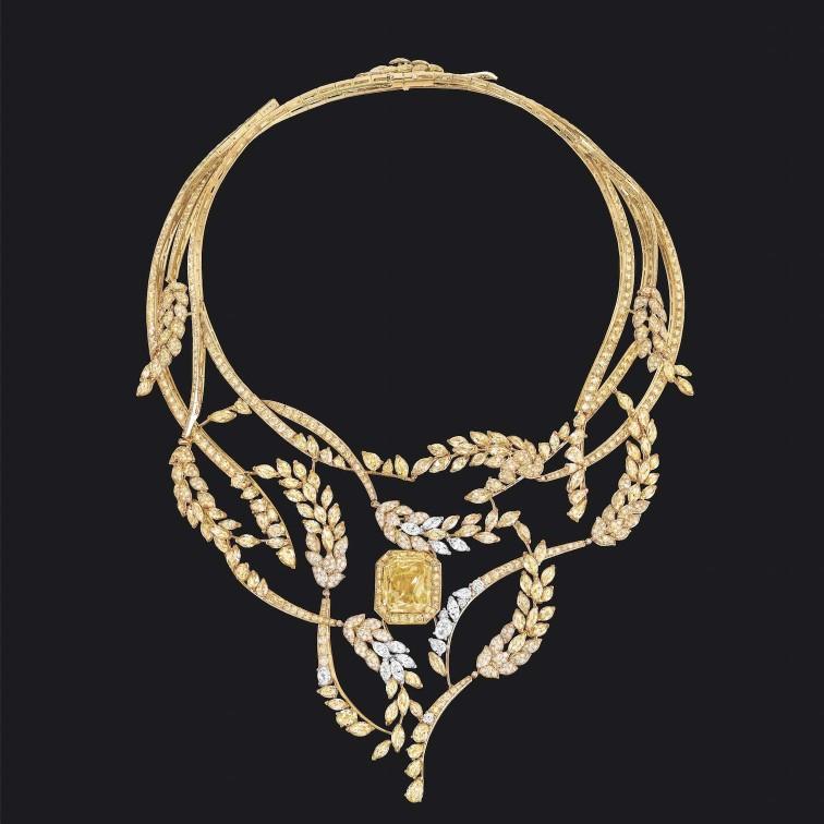 COLLIER FETE DES MOISSONS  - Chanel Alta gioielleria