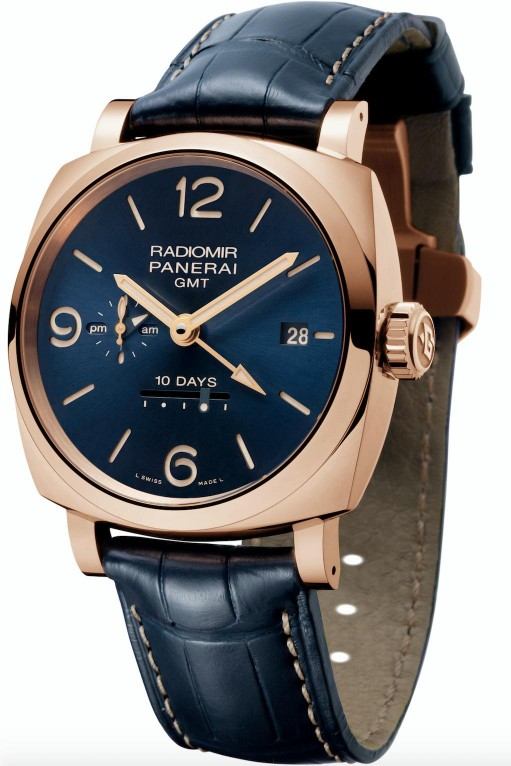 Officine Panerai, Radiomir 1940 10 Days GMT Automatic Oro Rosso