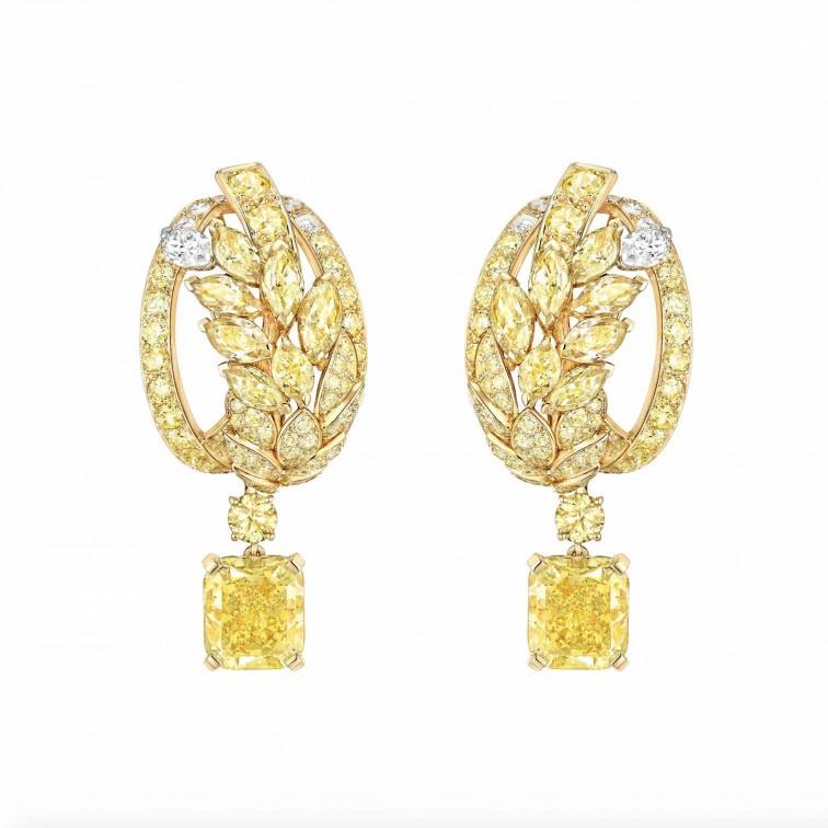 Orecchini FETE DES MOISSONS - Collezione Le Bles de Chanel - Alta gioielleria