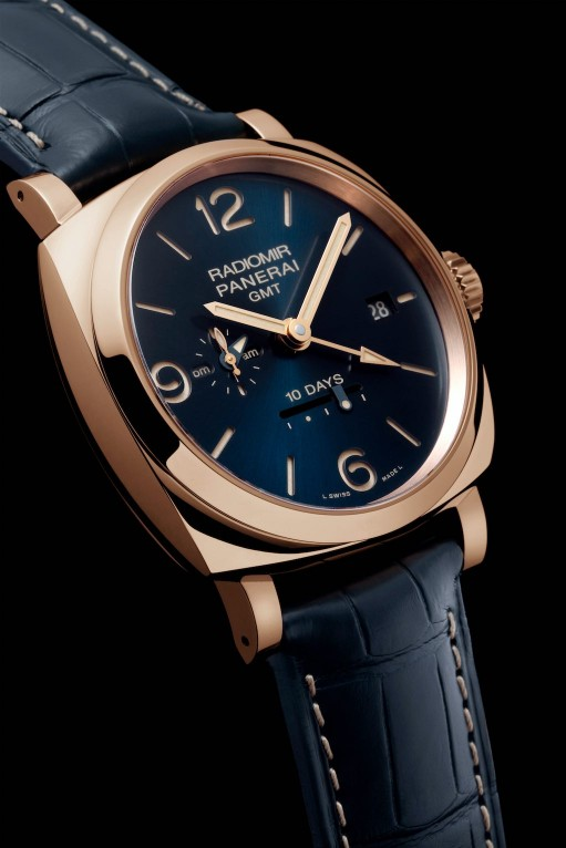 Radiomir 1940 10 Days GMT Automatic Oro Rosso, Panerai