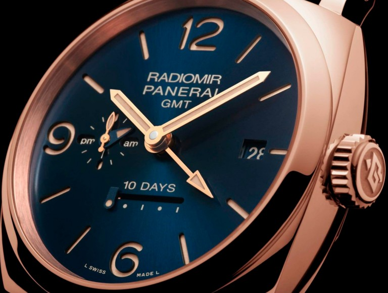 blue dial officine panerai
