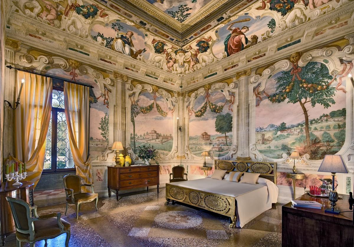 Villa emo capodilista dimora veneta cinquecentesca the for Interni ville antiche