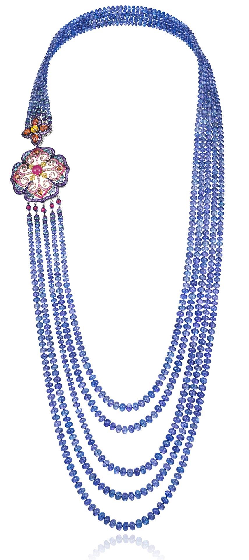 Alta Gioielleria - Chopard Red Carpet necklace gancio di chiusura floreale