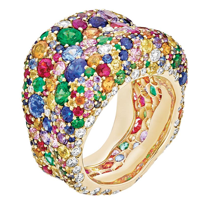 Alta Gioielleria - Fabergé Emotion Multi coloured Ring