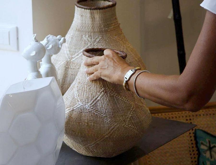 complementi d'arredo - casa marbrisa, dettaglio su vasi