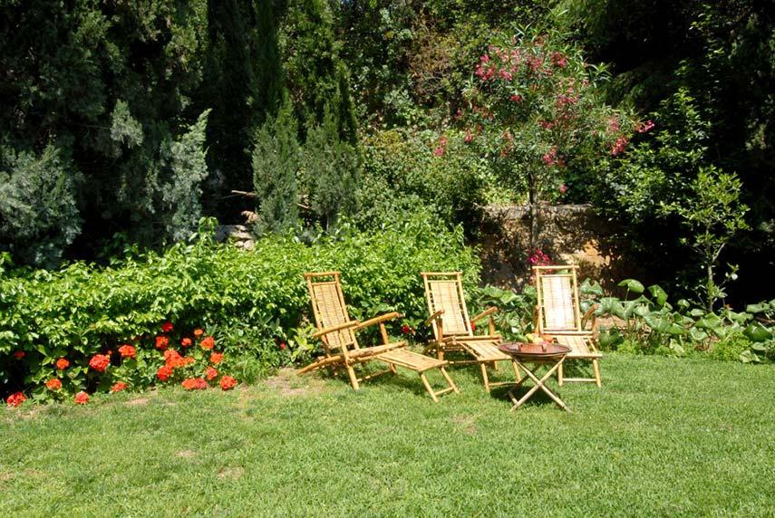 La Masseria Moscala - un angolo relax del parco
