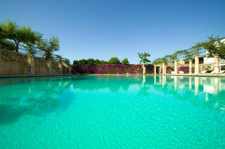The Ducker - Masseria Torre Maizza - Resort Lusso in Puglia - la piscina