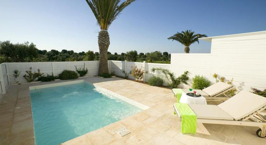 The Ducker - Masseria Torre Maizza - Resort Lusso in Puglia - Terrazza e solarium