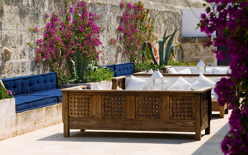 The Ducker - Masseria Torre Maizza - Resort Lusso in Puglia - terrazza e dehor