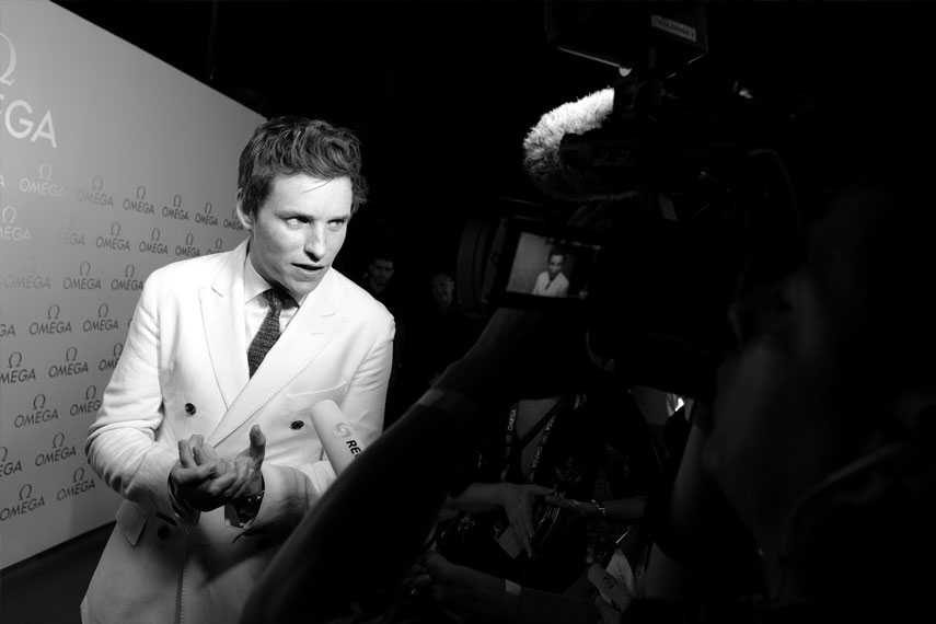 The Ducker - Omega Rio 2016 Eddie Redmayne