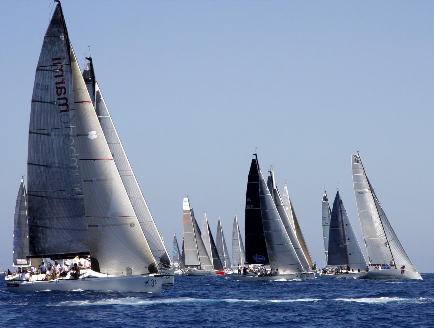 Palermo Montecarlo - la vittoria di Rambler alla regata velica - copertina