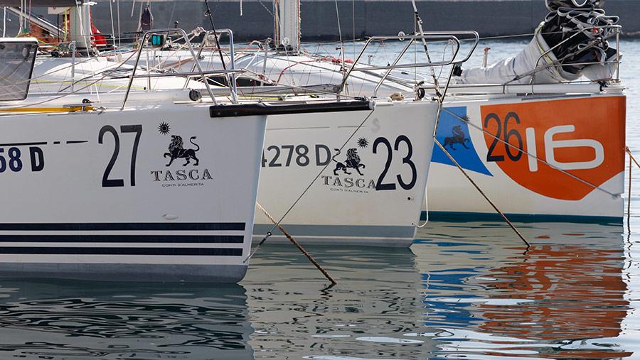 Palermo Montecarlo - la vittoria di Rambler alla regata velica - barche tasca