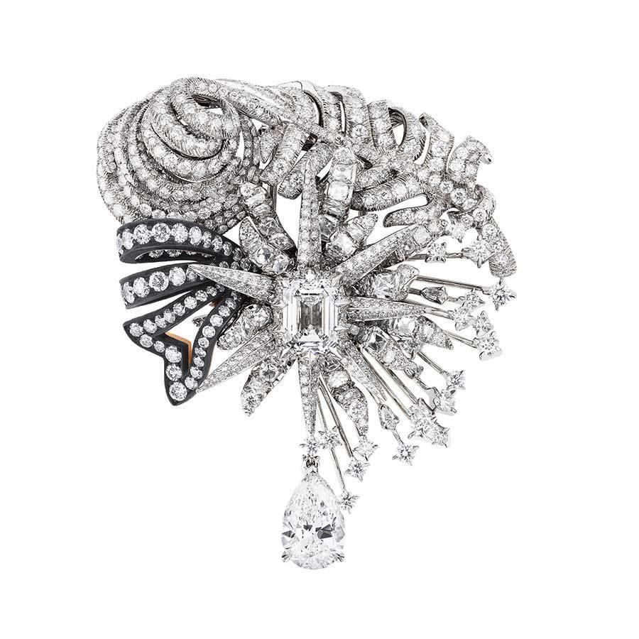 Victoire de Castellane per Dior - SALON D'APOLLON BROOCH