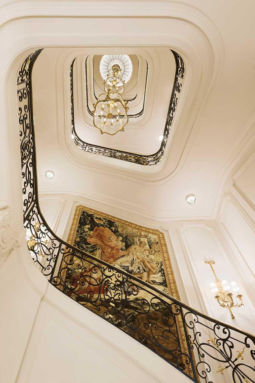 Hotel Ritz Parigi - Escalier d'honneur ∏ Vincent Leroux