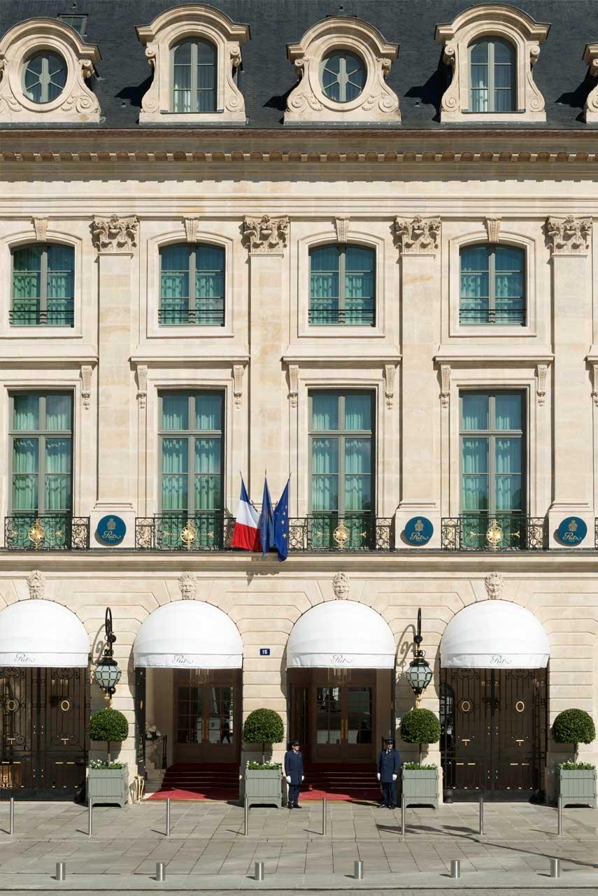 Hotel Ritz Parigi - Faáade ∏ Vincent Leroux (1)