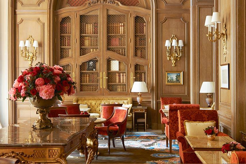 Hotel Ritz Parigi - Salon Proust ∏ Adrien Dirand