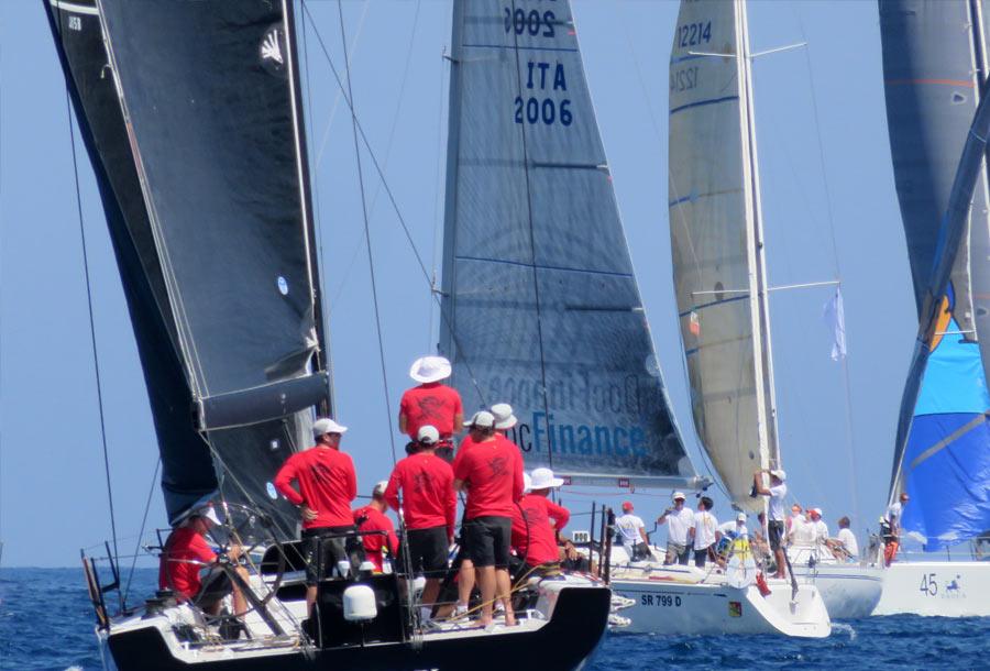 Palermo Montecarlo - la vittoria di Rambler alla regata velica - foto 02