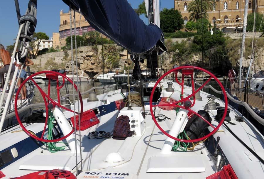 Palermo Montecarlo - la vittoria di Rambler alla regata velica - foto 04