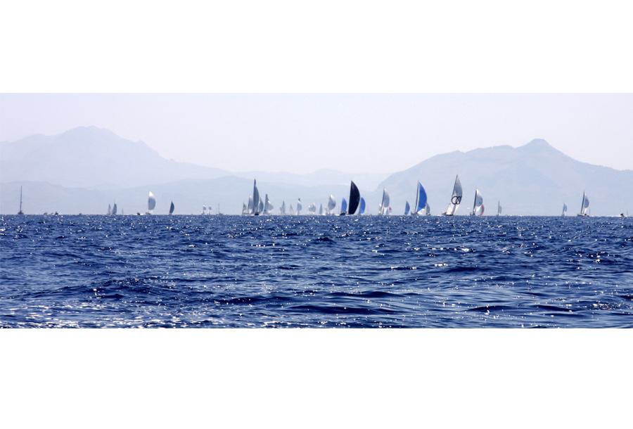 Palermo Montecarlo - la vittoria di Rambler alla regata velica - foto 07