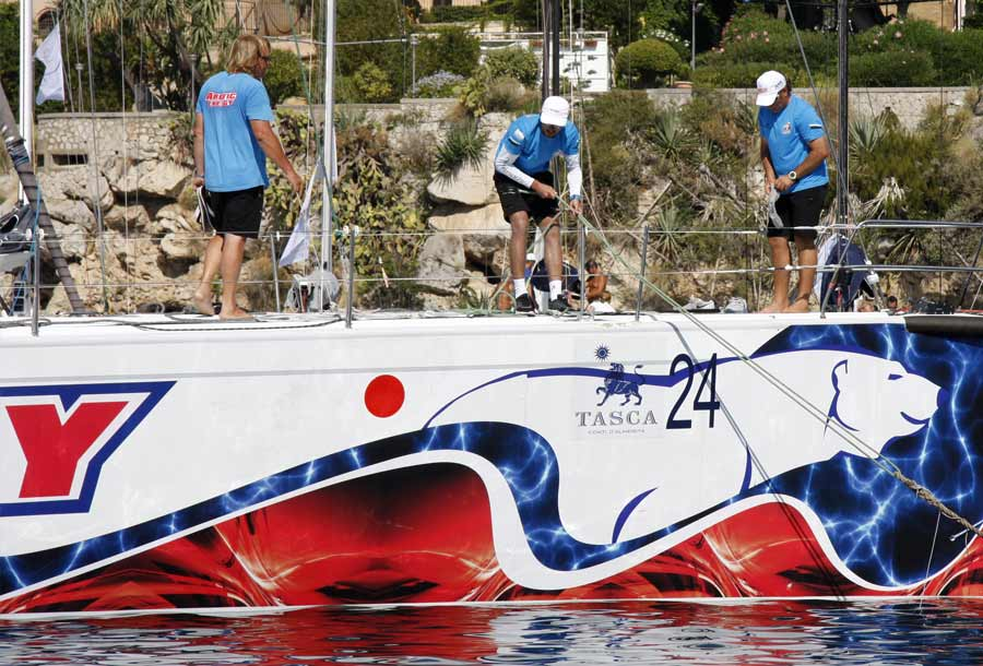 Palermo Montecarlo - la vittoria di Rambler alla regata velica - foto 10