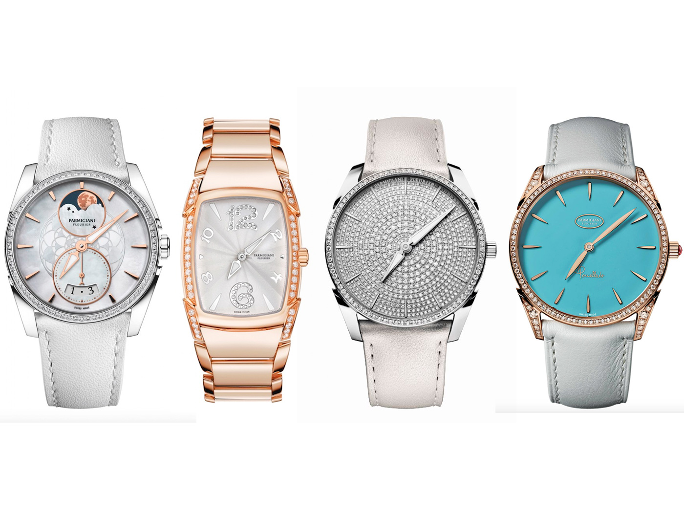 Parmigiani Fleurier: i quattro modelli di orologio proposti hihglight