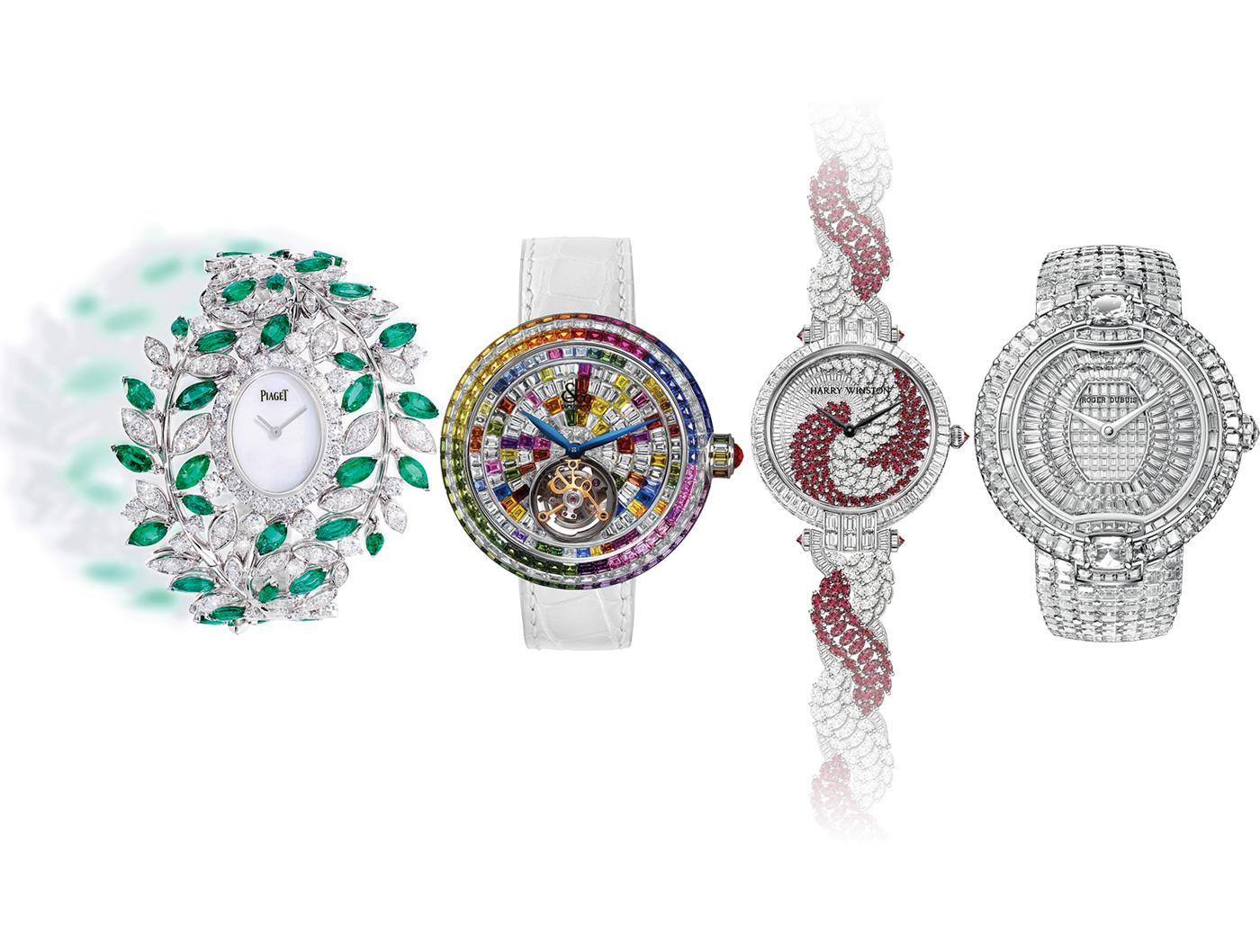 shining time - i 4 orologi dell'articolo affiancati - img di testata