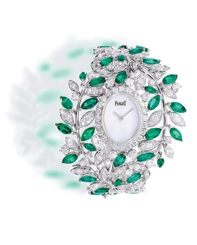 Shining time - Piaget - Orologio Manchette Green Oasis