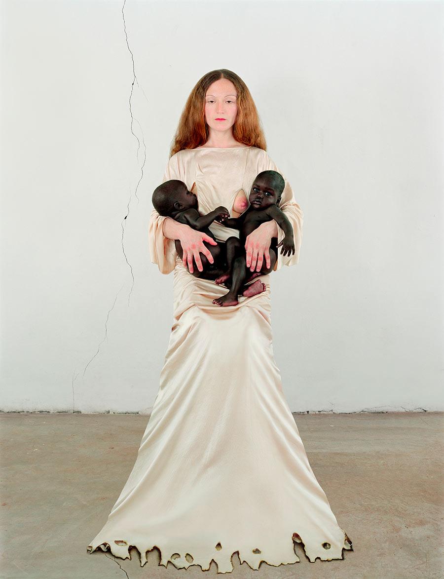 Chiostro del Bramante, esposizione Love, Vanessa Beecroft VBSS.003.MP