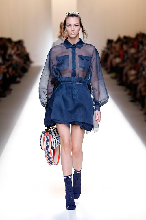 Fashion Week - passerella Fendi