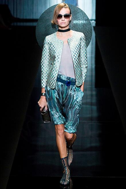 fashion week milano - modella armani