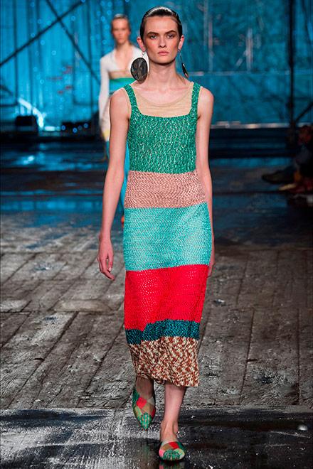 fashion week milano - modella Angela Missoni