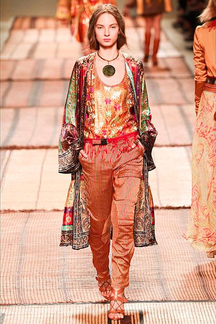 fashion week milano - modella etro