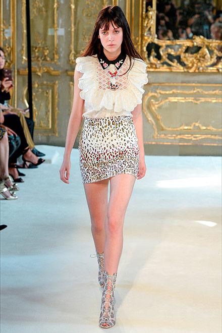 fashion week milano - modella giamba