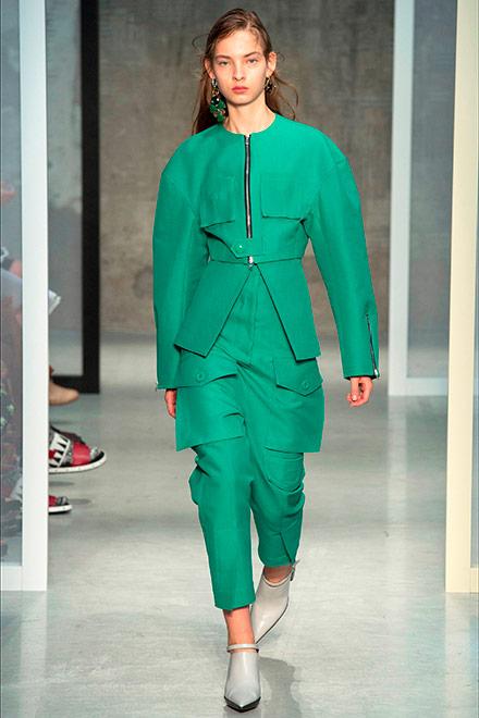 fashion week milano - modella marni