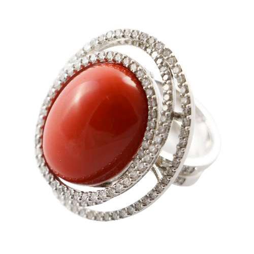 gioielli preziosi fecarotta antichità anello diamanti corallo
