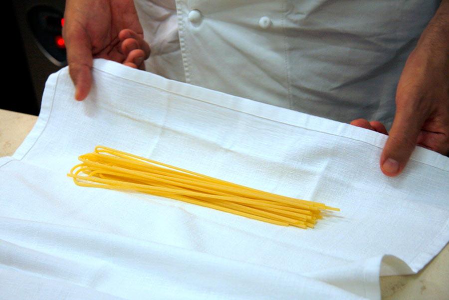 Pino Cuttaia - pasta fresca spaghetti