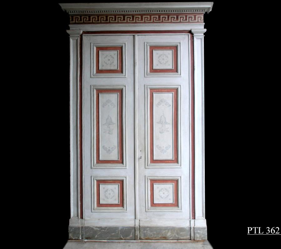 porte antiche - porta '800 laccata