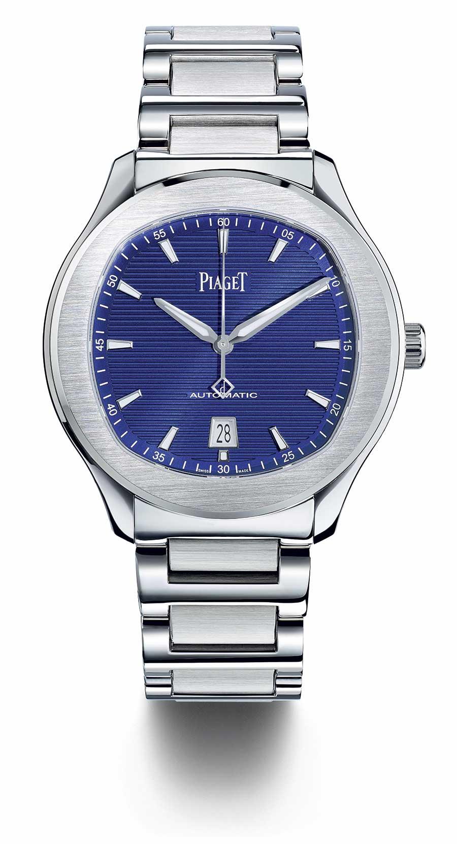 Piaget Polo S quadrante blu