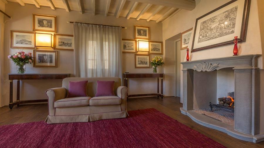 """SPA in Toscana - Il Borro, interno di """"Casa Musicista"""""""