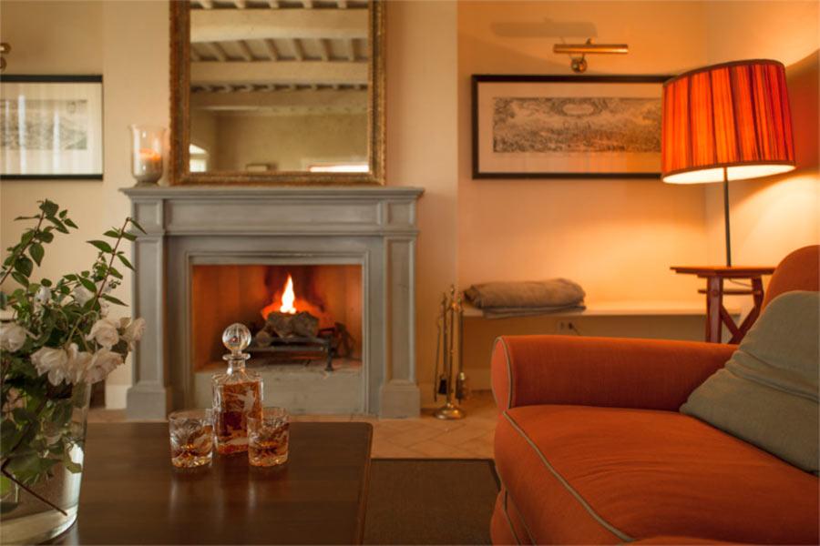 SPA in Toscana - Il Borro, salotto casetta