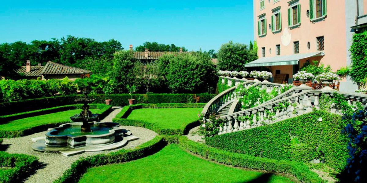 SPA in Toscana - Il Borro, immagine del parco per highlight