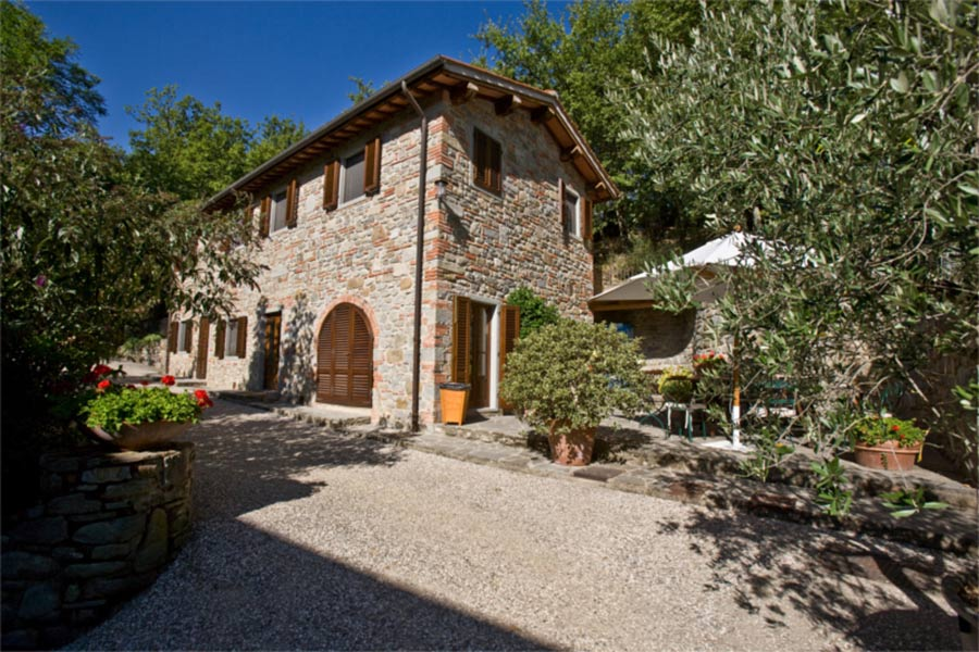 SPA in Toscana - Il Borro, vista del mulino