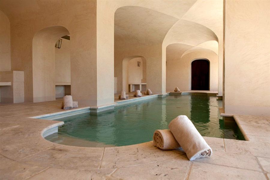 SPA in Toscana - Il Borro, piscina