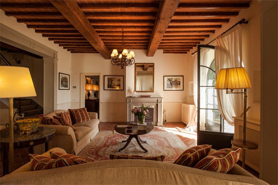 SPA in Toscana - Il Borro, la zona salotto